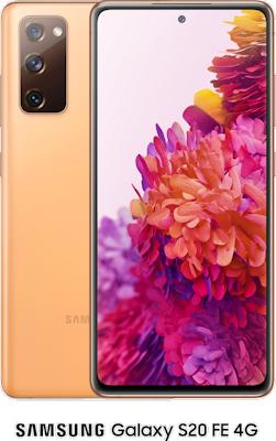 Orange Samsung Galaxy S20 FE 4G 128GB with free Samsung Galaxy Earbuds Live (Black) - Unlimited Data, £29.00 Upfront50% off...