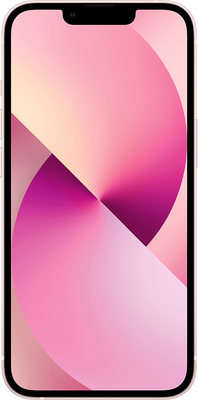 Pink Apple iPhone 13 5G 128GB - Unlimited Data, £29.00 UpfrontPay only 50% for 6 months (Automatic).