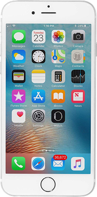 Image of Apple iPhone 6 64GB Silver Refurbished (Grade A) for £319 SIM Free