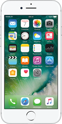 Silver Apple iPhone 7 32GB - Unlimited Data, £19.00 Upfront50% off for 6 months