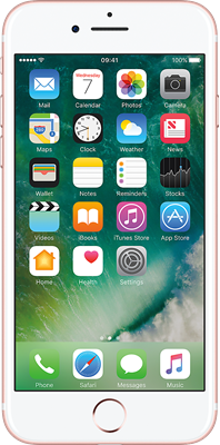 Rose Gold Apple iPhone 7 32GB - Unlimited Data, £19.00 Upfront50% off for 6 months