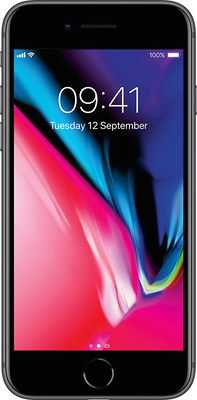 Image of Apple iPhone 8 64GB Space Grey Refurbished (Grade A) for £509 SIM Free