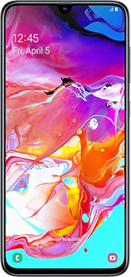 Galaxy A70 Dual SIM 128GB Black
