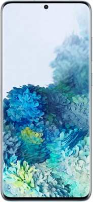 Blue Samsung Galaxy S20 5G 128GB with free Samsung Galaxy Earbuds Live (Black) - Unlimited Data, No Upfront