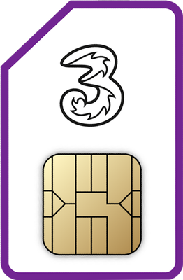 12GB SIM Only - 1 month contract.