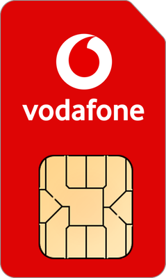 Vodafone SIM Only on Pay As You Go £50 Bundle with Unlimited mins & texts; Unlimited 5G data. £50 Topup.