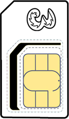 Unlimited SIM Only - 12 month contract, £18.00 p/m