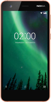 Nokia 2 (8GB Copper Black) at £89.99 on SIM Only 500MB (1 Month contract) with 150 mins; UNLIMITED texts; 500MB of 4G data. £3.99 a month.