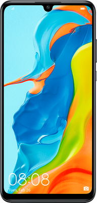 Huawei P30 lite New Edition Dual SIM 256GB Midnight Black at £249 on Big Bundle Calls and Texts with Unlimited mins & texts; £5 Topup.