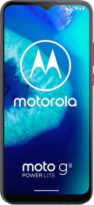 Moto G8 Power Lite 64gb Royal Blue At £0 On Red 24 Month Contract With Unlimited Mins Texts 6gb Of 5g Data £23 A Month