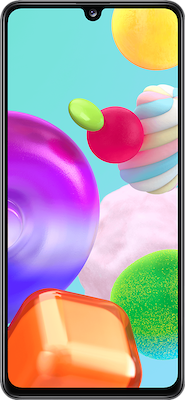 Samsung Galaxy A41 64GB Black at £0 on Pay Monthly 20GB (24 Month contract) with Unlimited mins & texts; 20GB of 4G data. £21.99 a month.