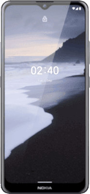 Grey Nokia 2.4 32GB - 0GB Data, £19.00 Upfront